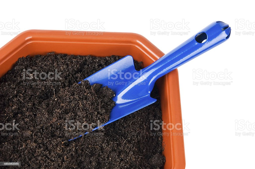 Gardening tools royalty-free stock photo