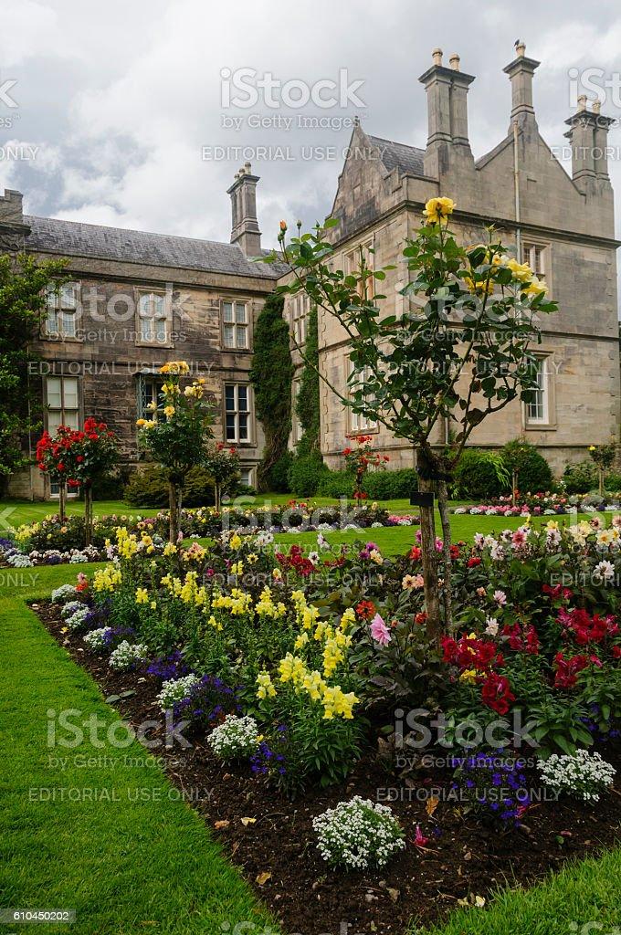 Gardens of Muckross House, Killarney National Park, Ireland, Eur stock photo