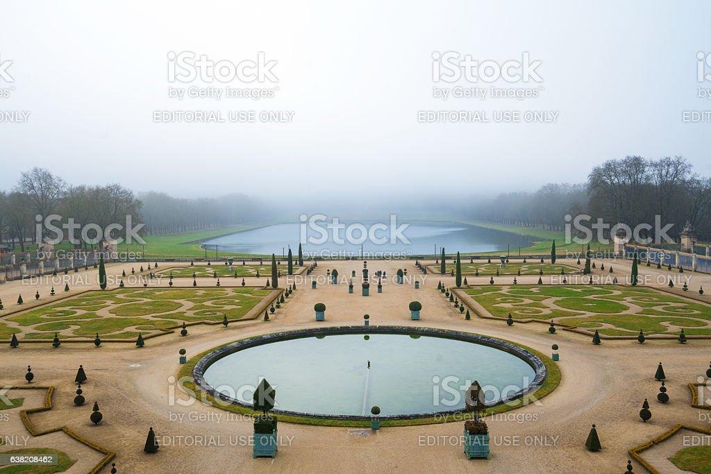 Gardens of Versailles Apollo Fountain stock photo