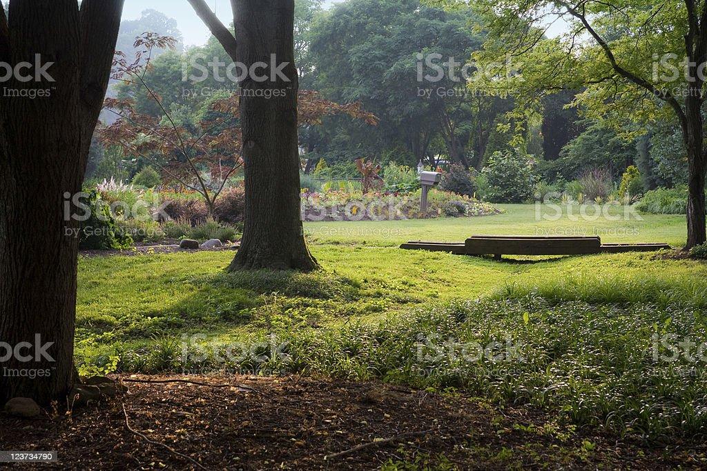 UT Gardens stock photo