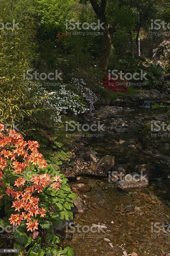 Gardens royalty-free stock photo