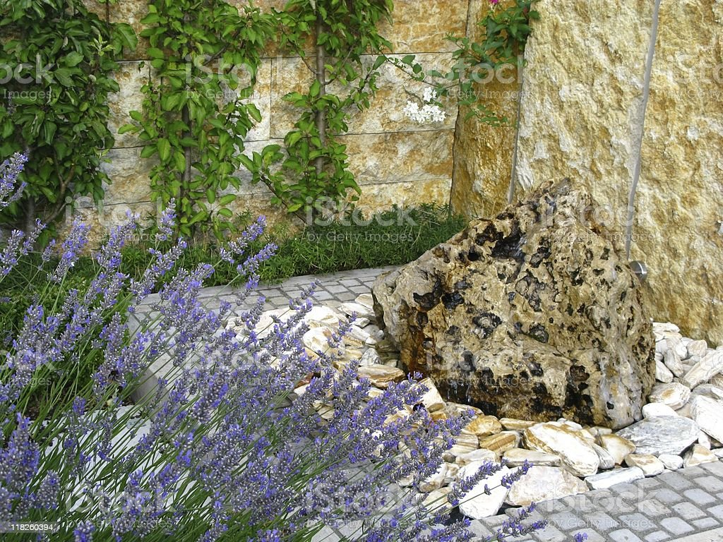 Garden-well royalty-free stock photo