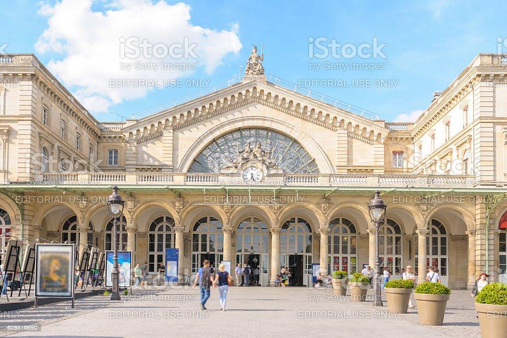 Gare de Paris-Est stock photo