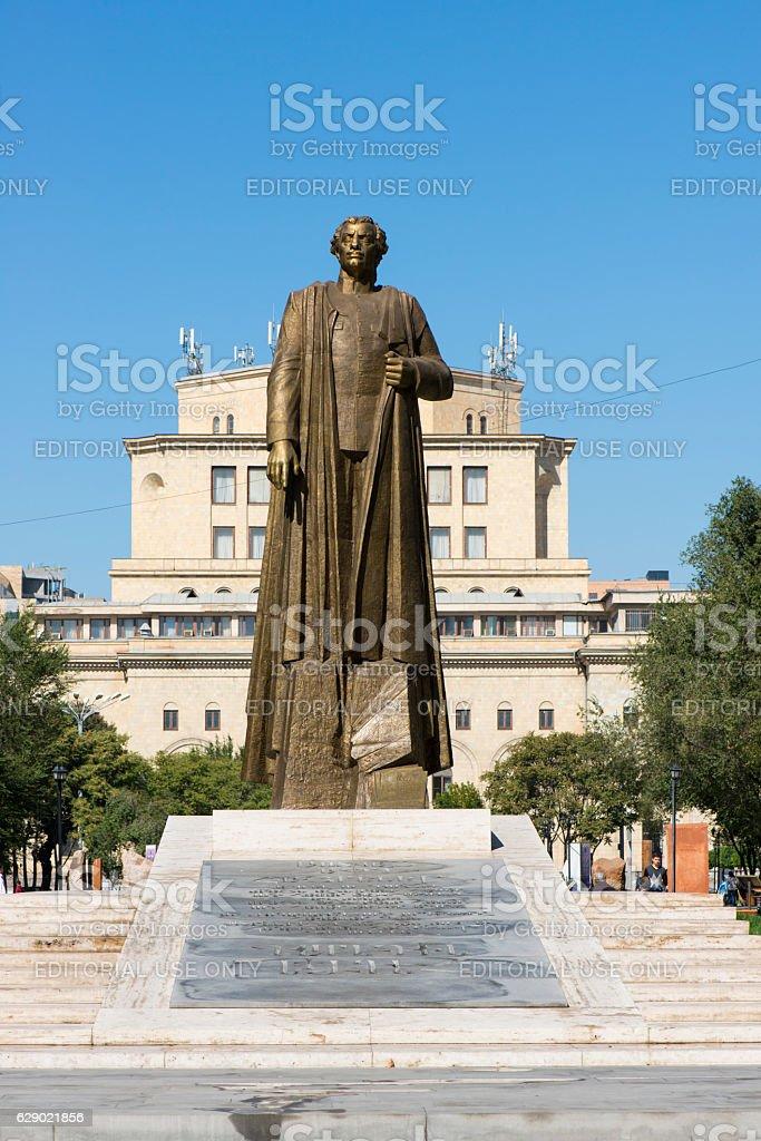 Garegin Nzhdeh in Yerevan, Armenia stock photo