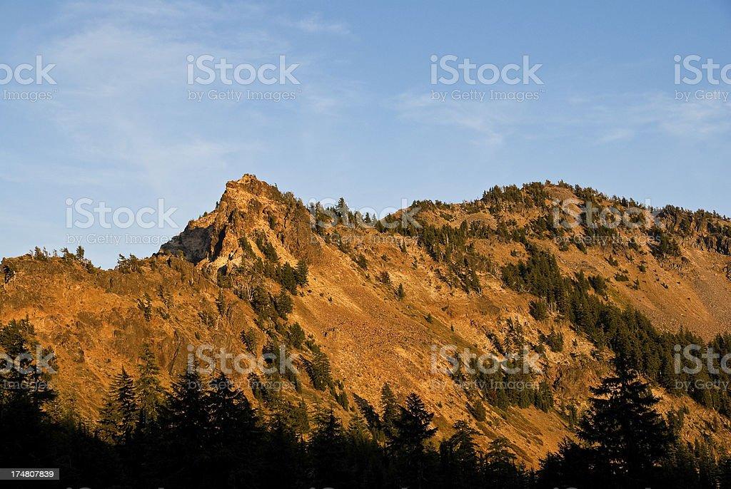 Garfield Peak at Sunset royalty-free stock photo