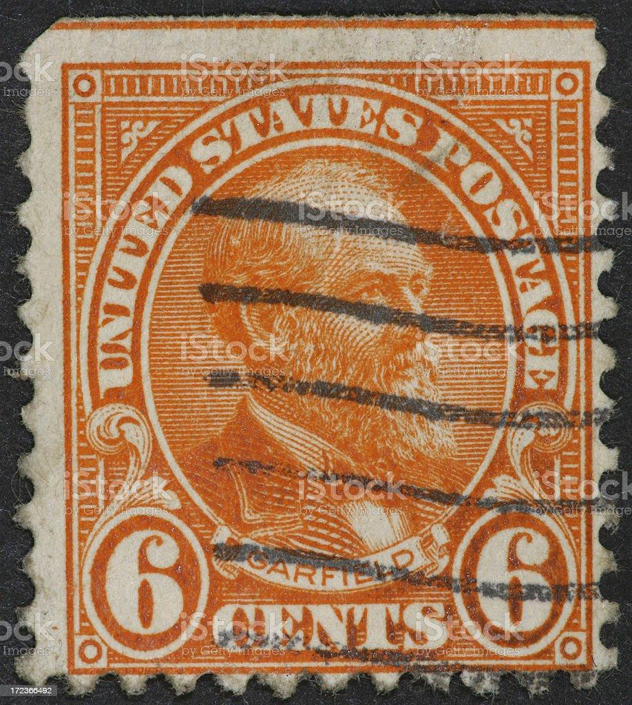 Garfield stamp 1922 stock photo
