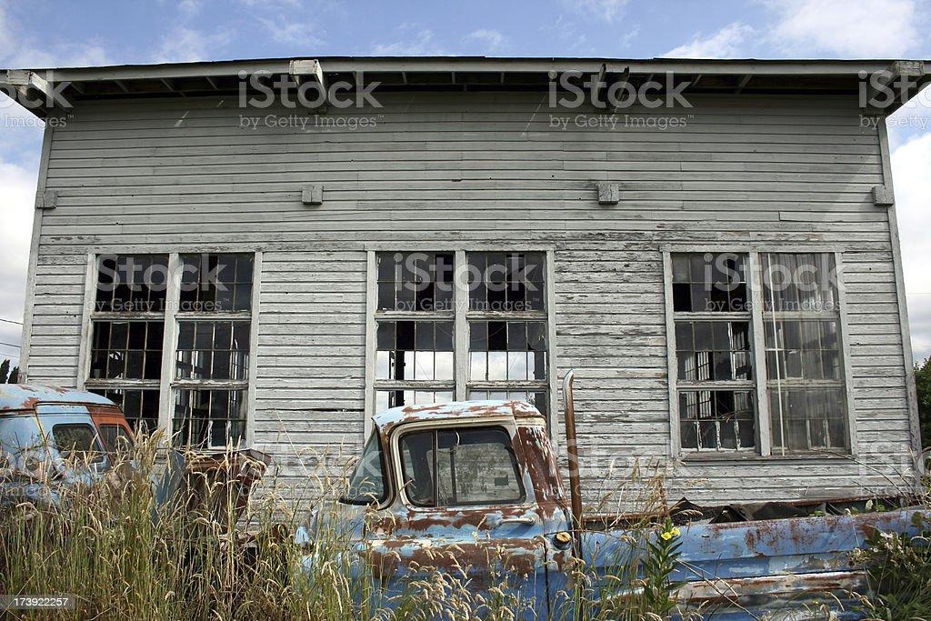Gargage of old royalty-free stock photo