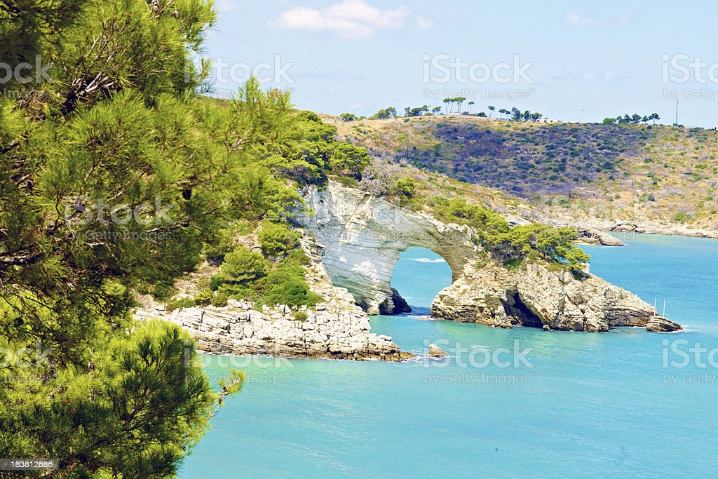 Gargano royalty-free stock photo