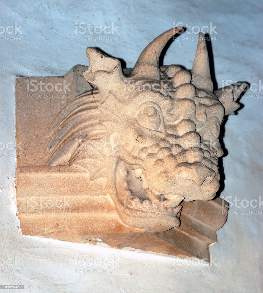 Gargoyle royalty-free stock photo