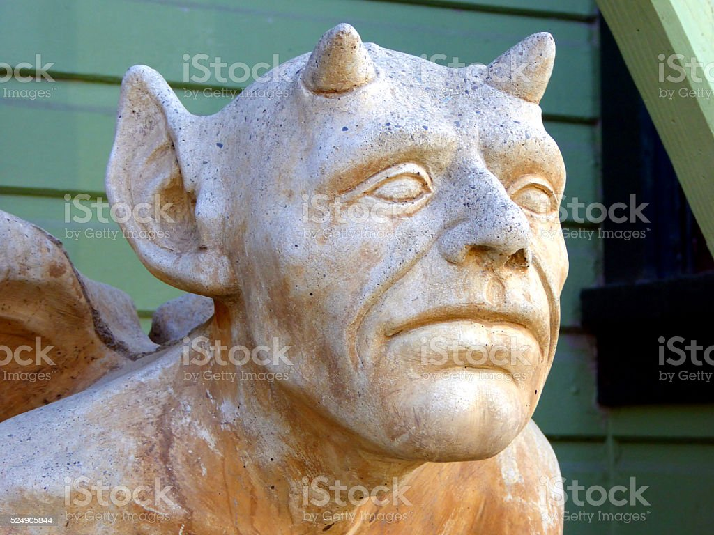 Gargoyle Statue stock photo