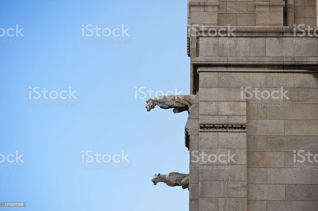 Gargoyles stock photo