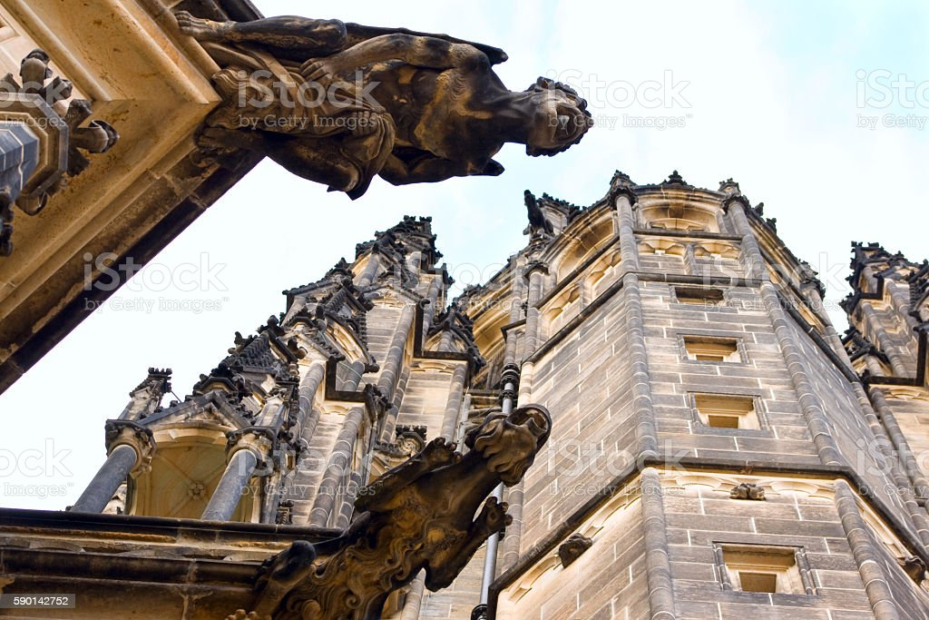 Gargoyles royalty-free stock photo