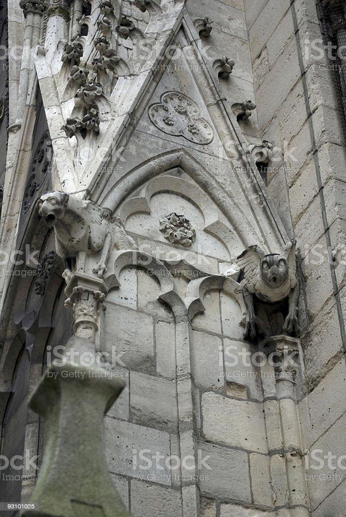 Gargoyles royalty-free stock photo