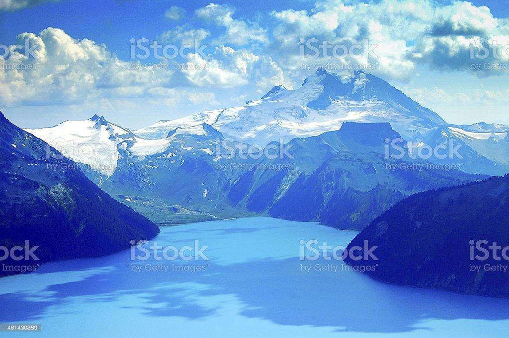 garibaldi lake hiking destination near whistler bc stock photo