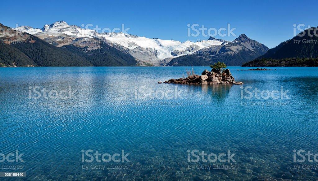 Garibaldi Lake,Vancouver,Canada in summer stock photo