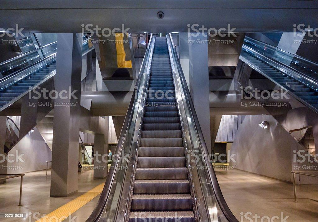 Garibaldi Metro Station, Naples, Italy stock photo