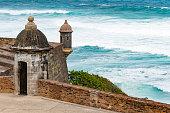 Garita (sentry box) of Castillo San Cristobal, Puerto Rico