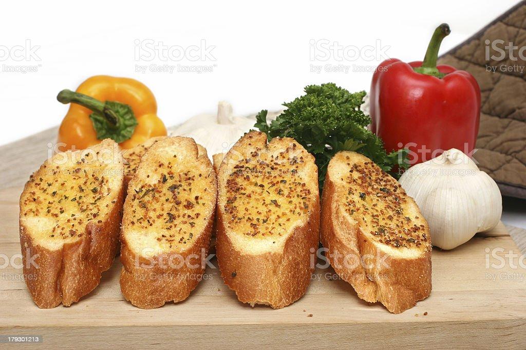 Garlic Bread royalty-free stock photo
