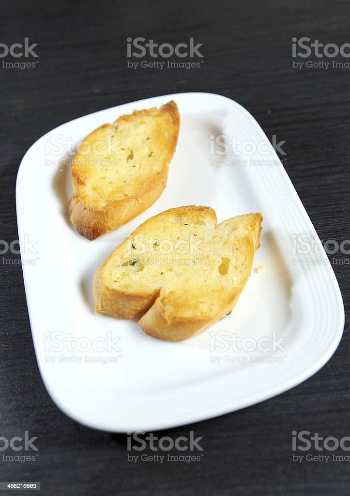 garlic bread royalty-free stock photo