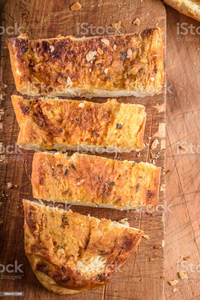 Garlic Bread stock photo