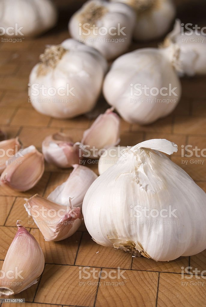 Garlic Bulbs royalty-free stock photo
