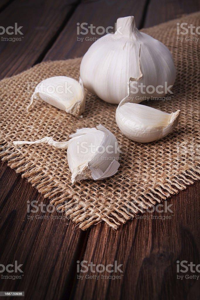 garlic royalty-free stock photo
