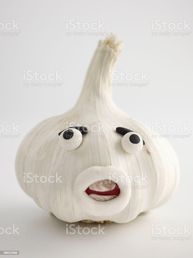 Garlic Portrait royalty-free stock photo