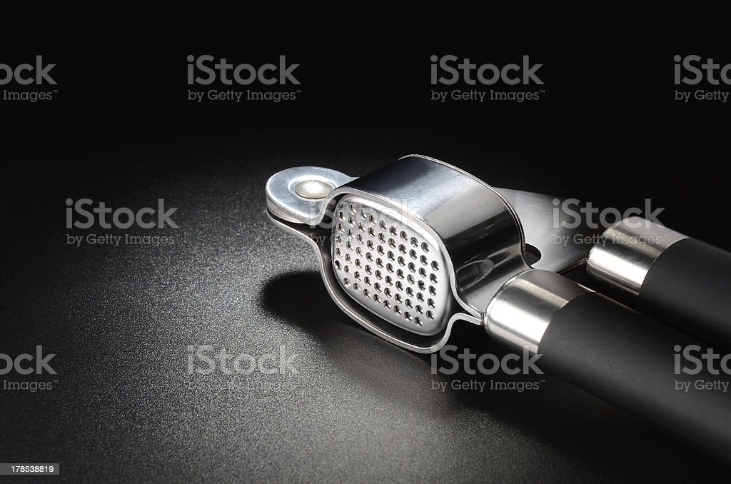 Garlic press royalty-free stock photo