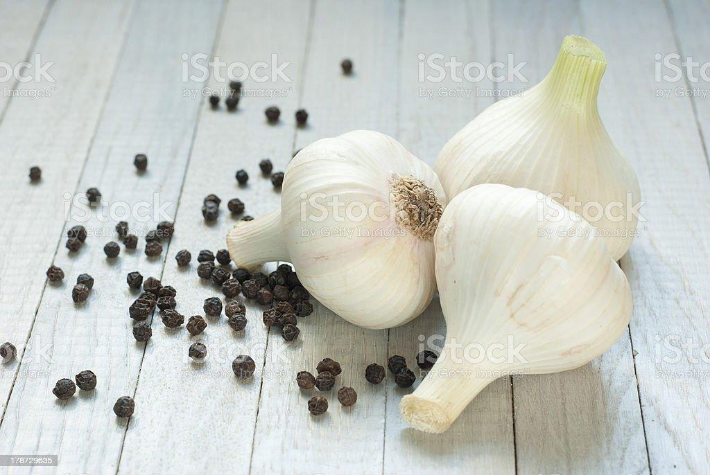 Garlics royalty-free stock photo