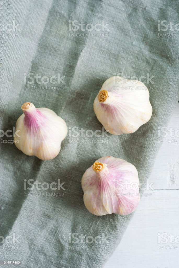 Garlics stock photo
