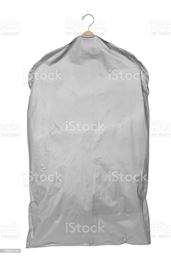 Garment Bag stock photo