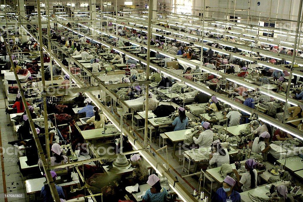 Garment Factory_1 royalty-free stock photo