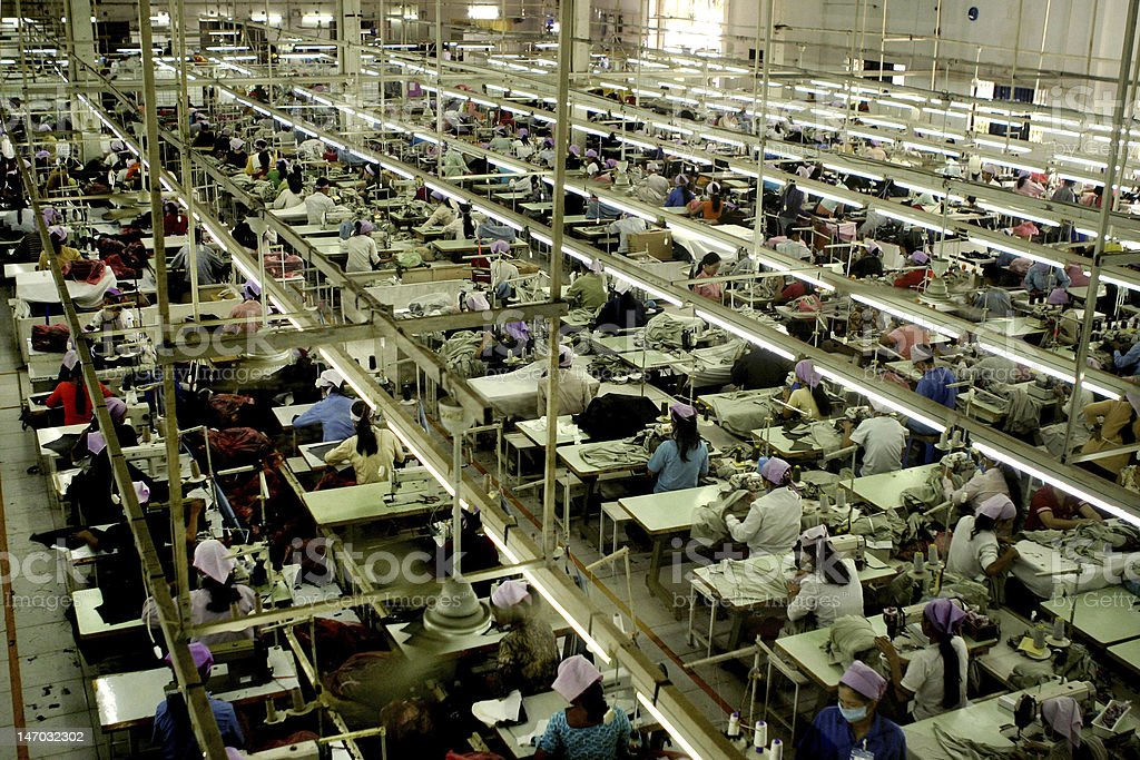 Garment Factory_1 stock photo