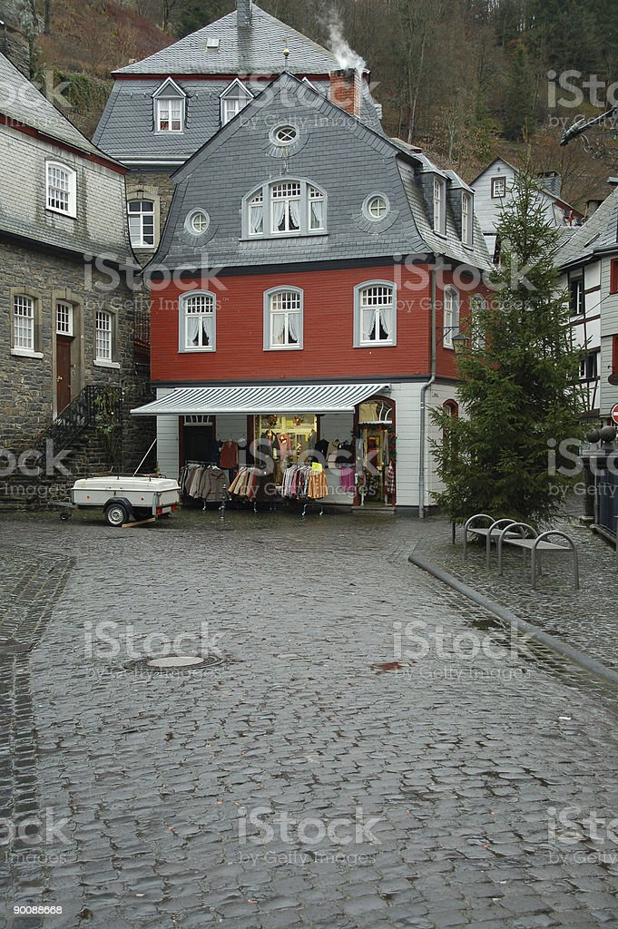 Garment Shop stock photo