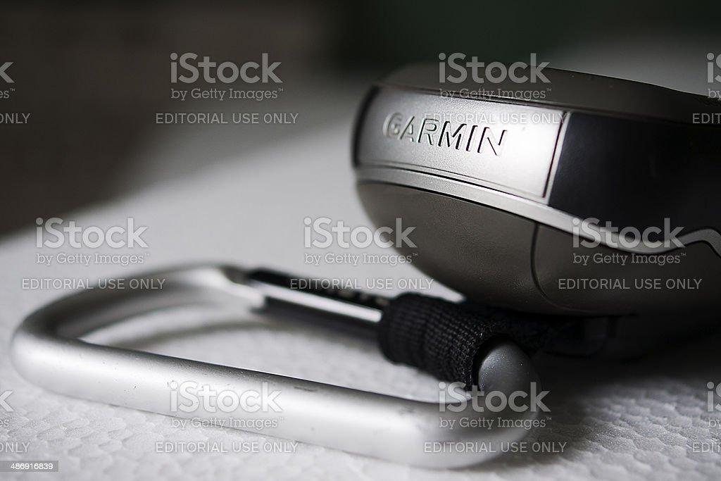 Garmin Oregon with Carbina Clip stock photo