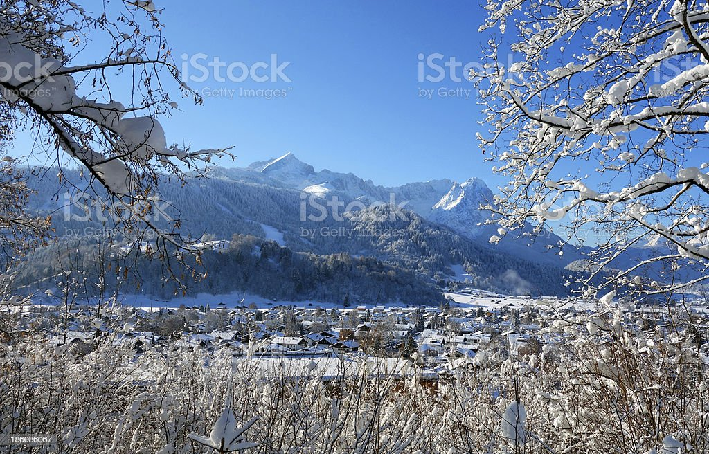 Garmisch-Partenkirchen, Germany royalty-free stock photo