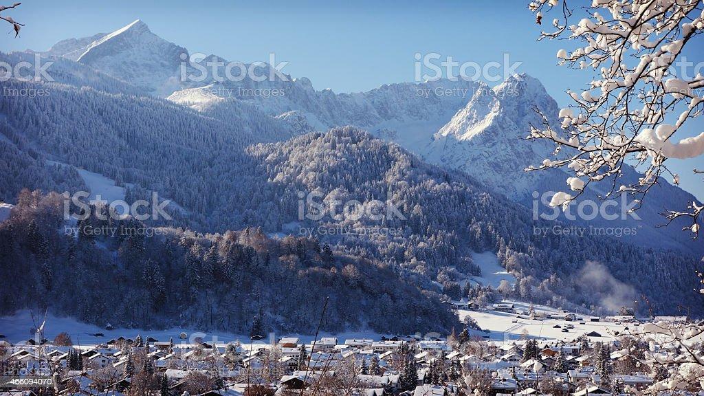 Garmisch-Partenkirchen, Germany stock photo