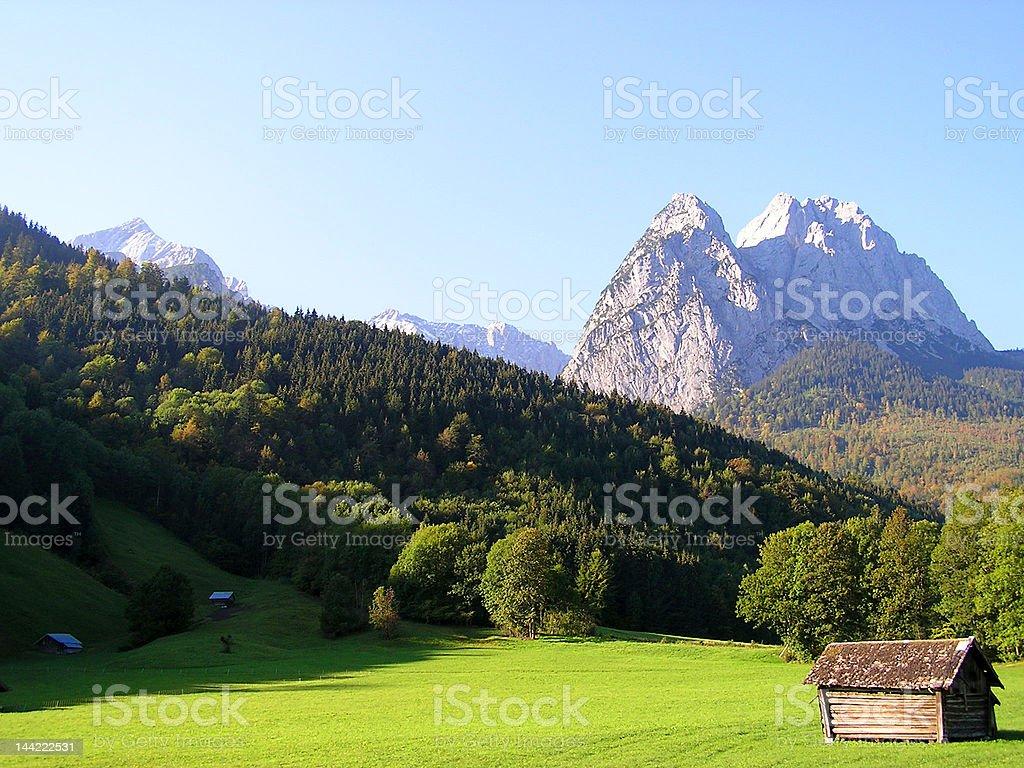 Garmisch-Partenkirchen royalty-free stock photo