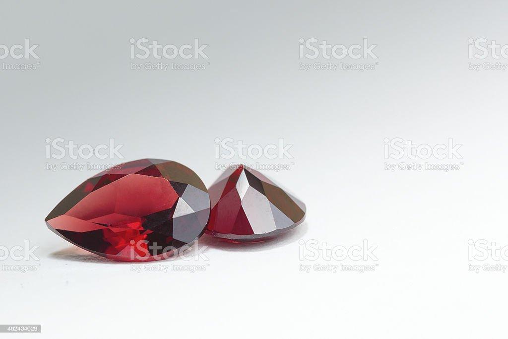 Garnet gemstone stock photo