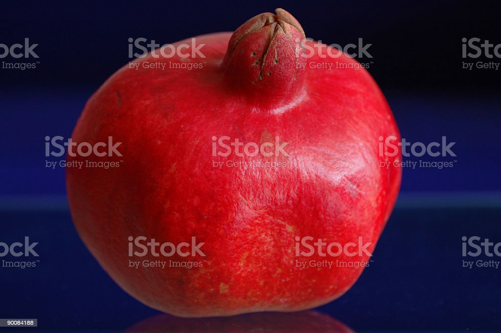 Garnet Pomegranate stock photo