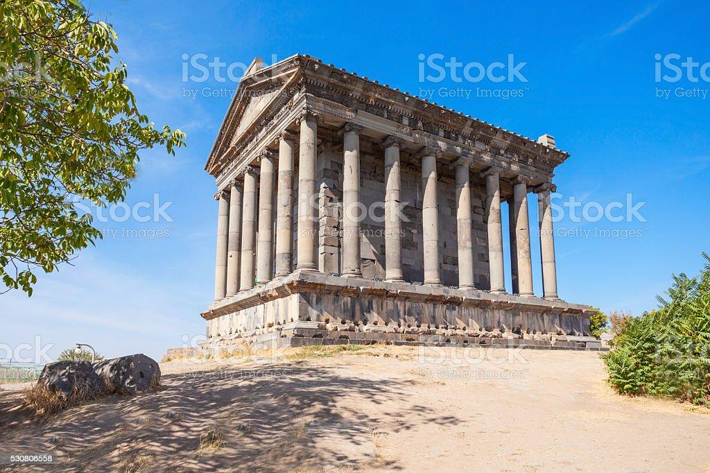 Garni Temple, Armenia stock photo
