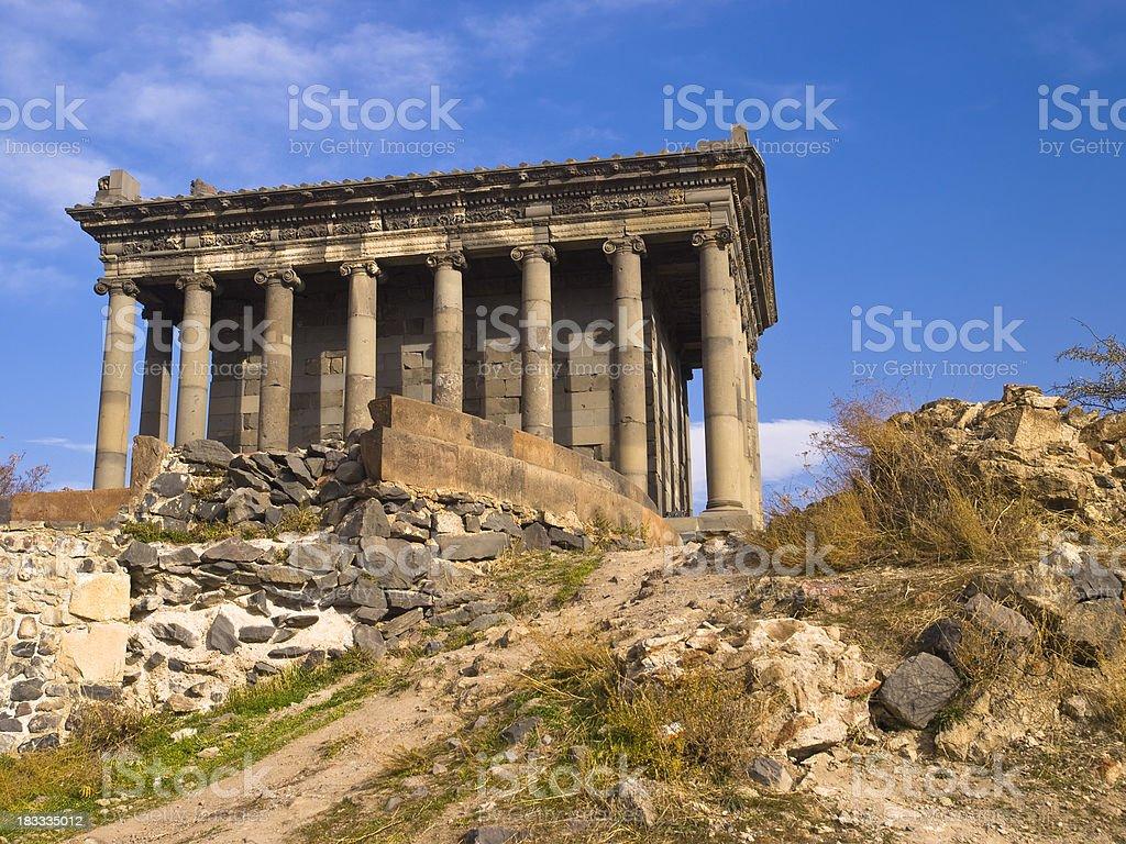 Garni Temple royalty-free stock photo