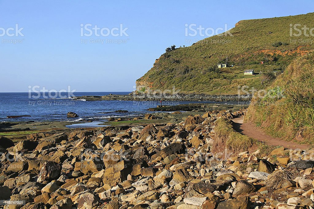 Garrie Beach - Southern End royalty-free stock photo