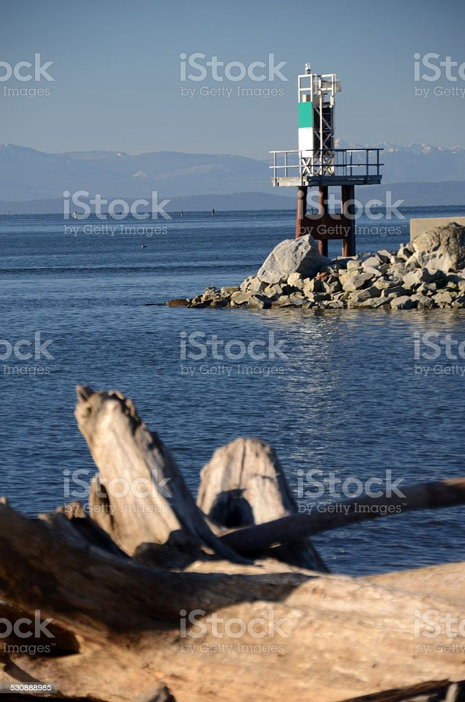 Garry Point Park, Steveston, Richmond, British Columbia stock photo
