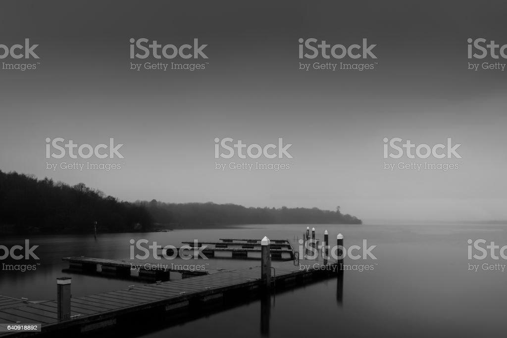 Garrykennedy New Pier 16-1-2017 stock photo