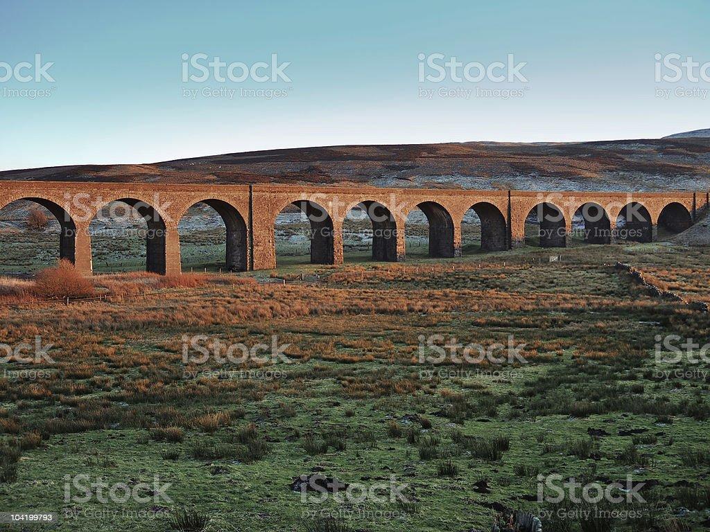 Garsdale Head viaduct stock photo