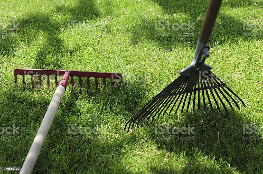 Gartengeräte stock photo