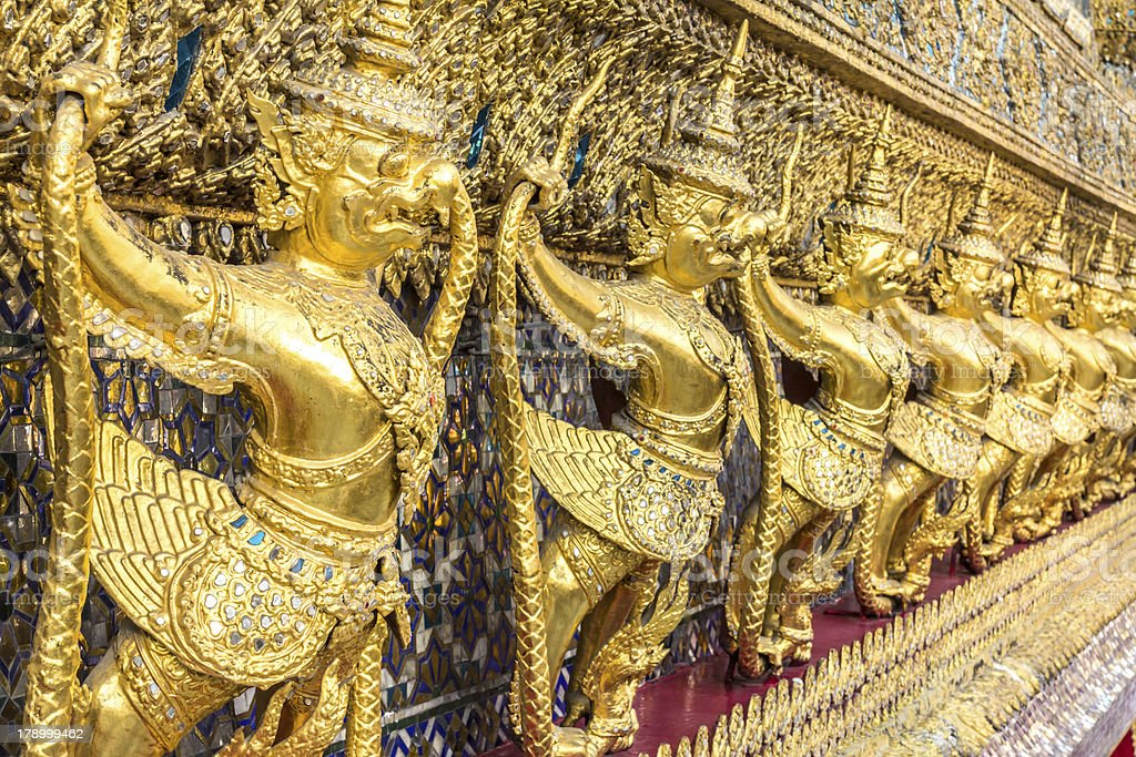 Garuda statue royalty-free stock photo