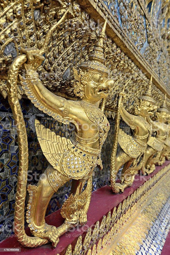 Garudas royalty-free stock photo