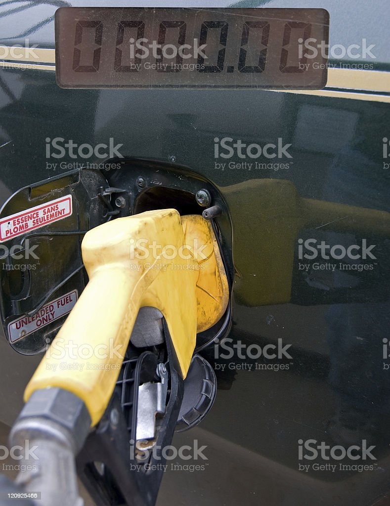 Gas and Gasp  Pump royalty-free stock photo